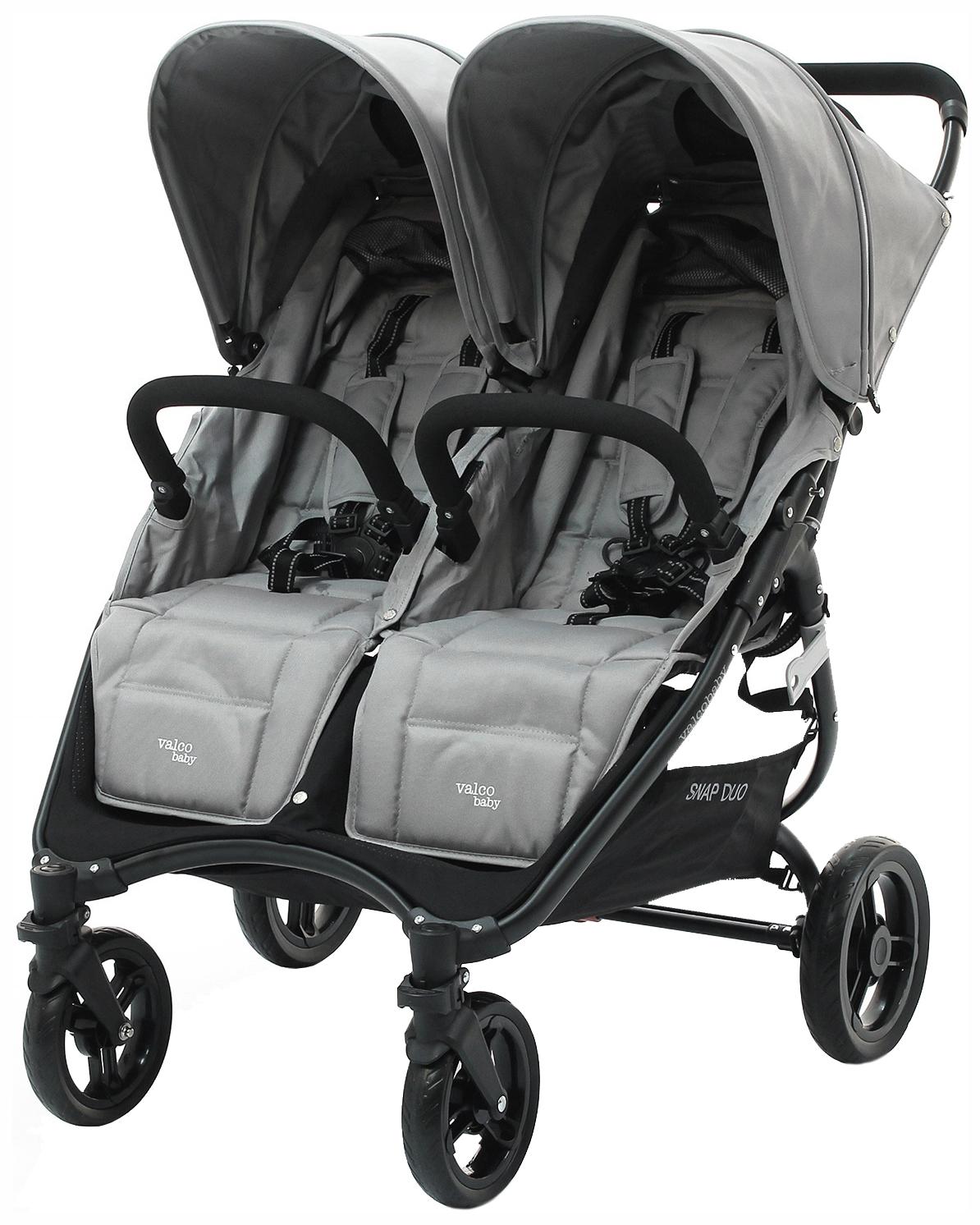 Купить Коляска для двойни и погодок Valco Baby Snap Duo Cool Grey,