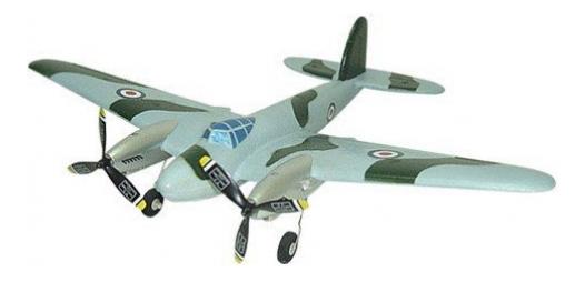Купить Военный самолет mosquito р у М32298, Военный самолет Mosquito р/у Shenzhen Toys М32298, Радиоуправляемые самолеты