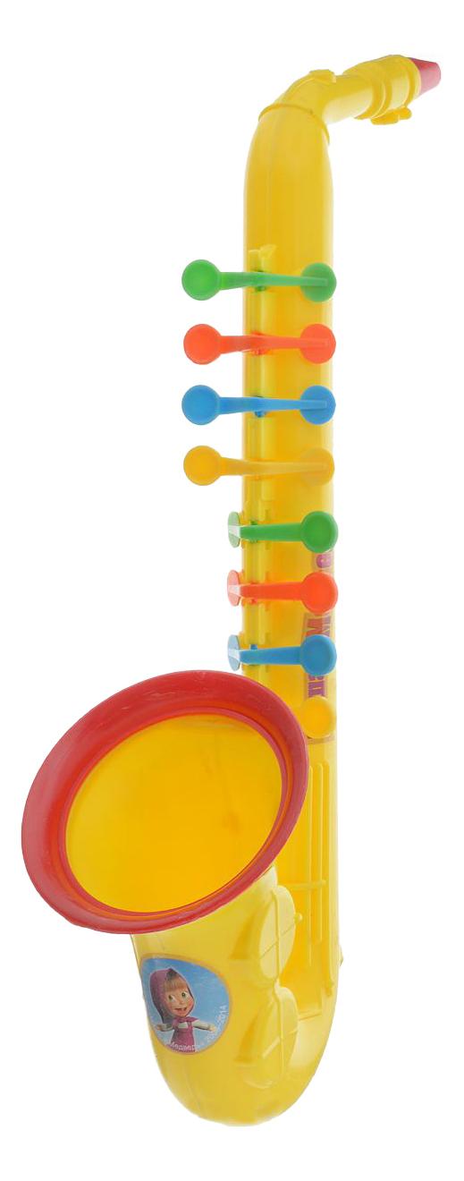 Купить Маша и медведь, Саксофон Маша и Медведь Играем вместе, Играем Вместе, Детские музыкальные инструменты
