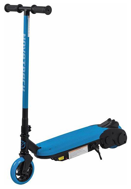 Купить Городской электросамокат Novatrack Escoo 80W голубой, Детские электросамокаты