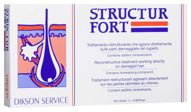 Ампулы для волос Dikson Structur Fort 10х12