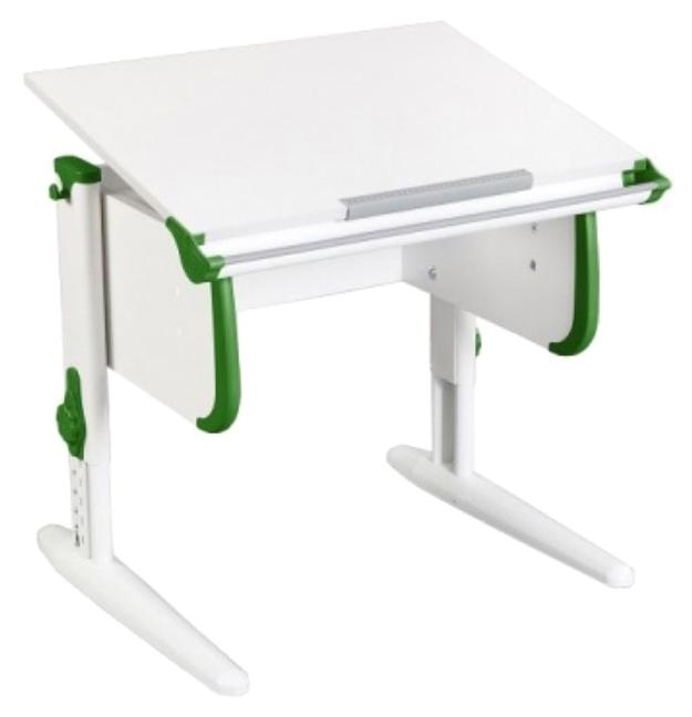 Парта Дэми White Стандарт СУТ-24 Белый/Зеленый