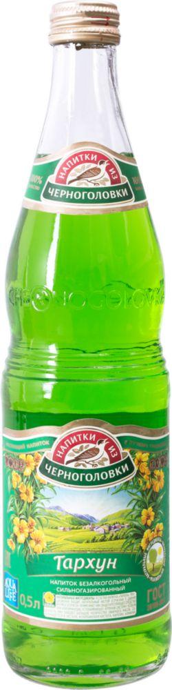 Напиток сильногазированный безалкогольный Напитки из Черноголовки тархун стекло 0.5 л фото