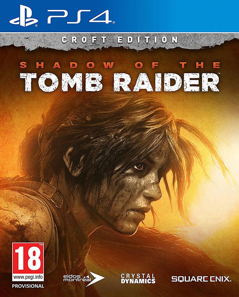 Игра Shadow of the Tomb Raider. Издание Croft для PlayStation 4 фото