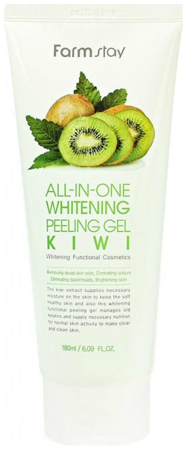 Купить Пилинг для лица FarmStay All-In-One Whitening Peeling Gel Kiwi 180 мл