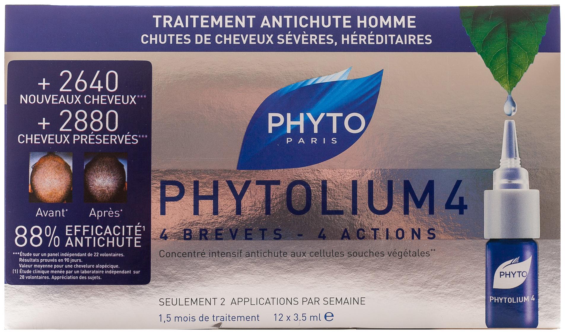 Ампулы для волос Phytosolba Treatments Против выпадения