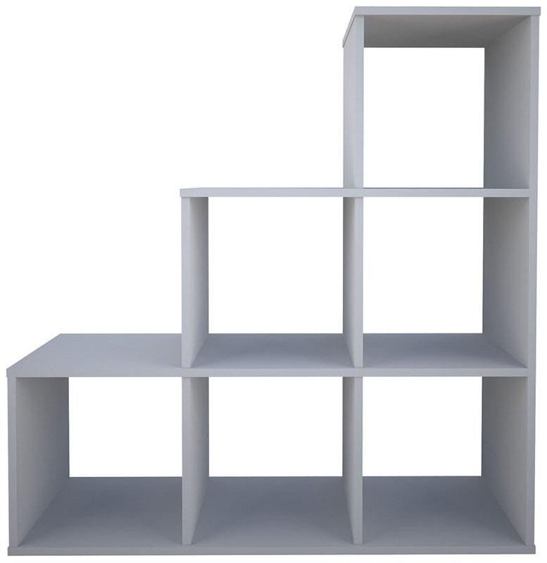 Купить Каскадный 6 секций, белый, Стеллаж Polini Home Smart Каскадный 6 секций, Белый, Polini Kids,