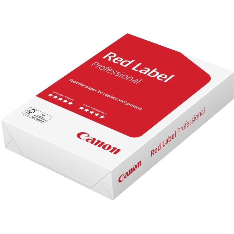 "Бумага для офисной техники ""Canon Red Label Professional"", А4, 80 г/м2, 172%CIE, 500 л"
