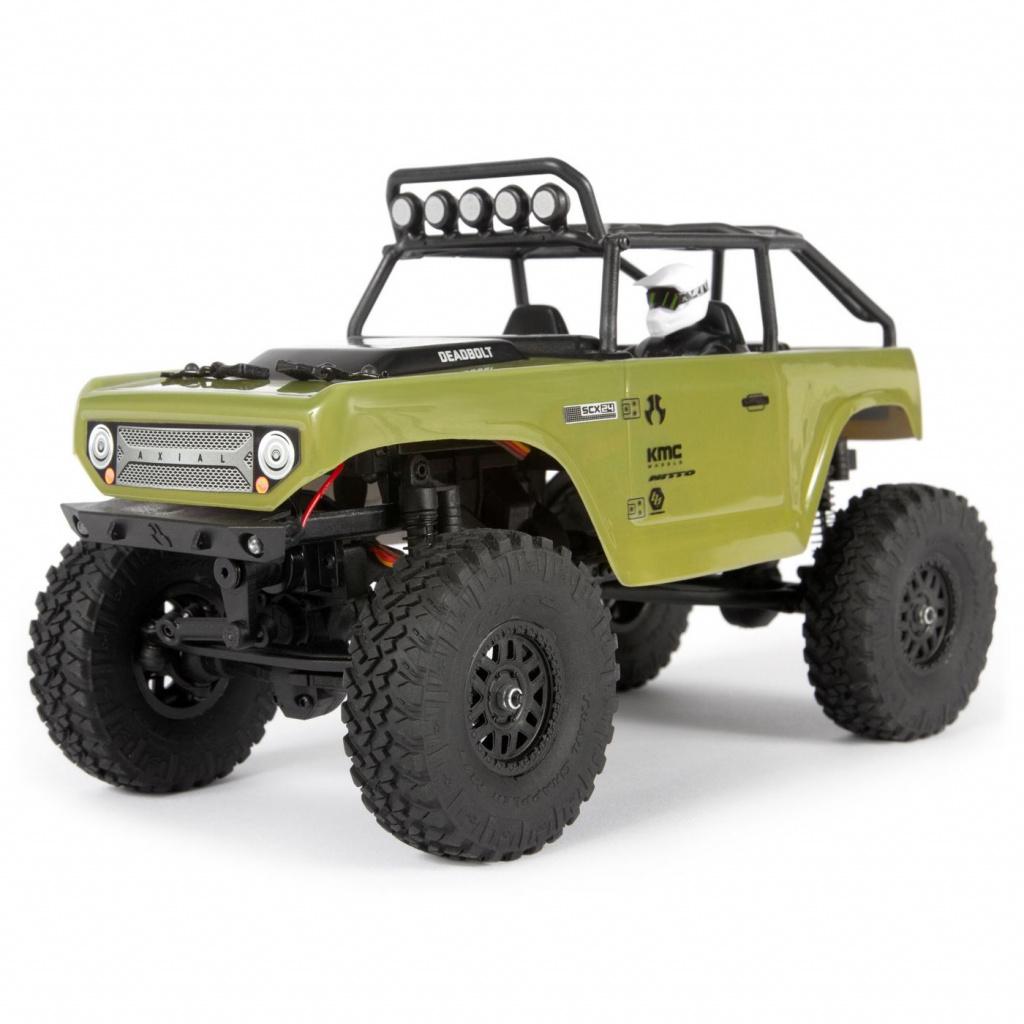 Купить SCX24 Deadbolt 4WD, электро, RTR, Радиоуправляемая машинка Axial SCX24 Deadbolt 4WD RTR,