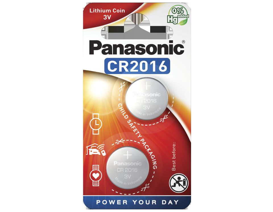Батарейка Panasonic CR 2016EL/2B 1 шт