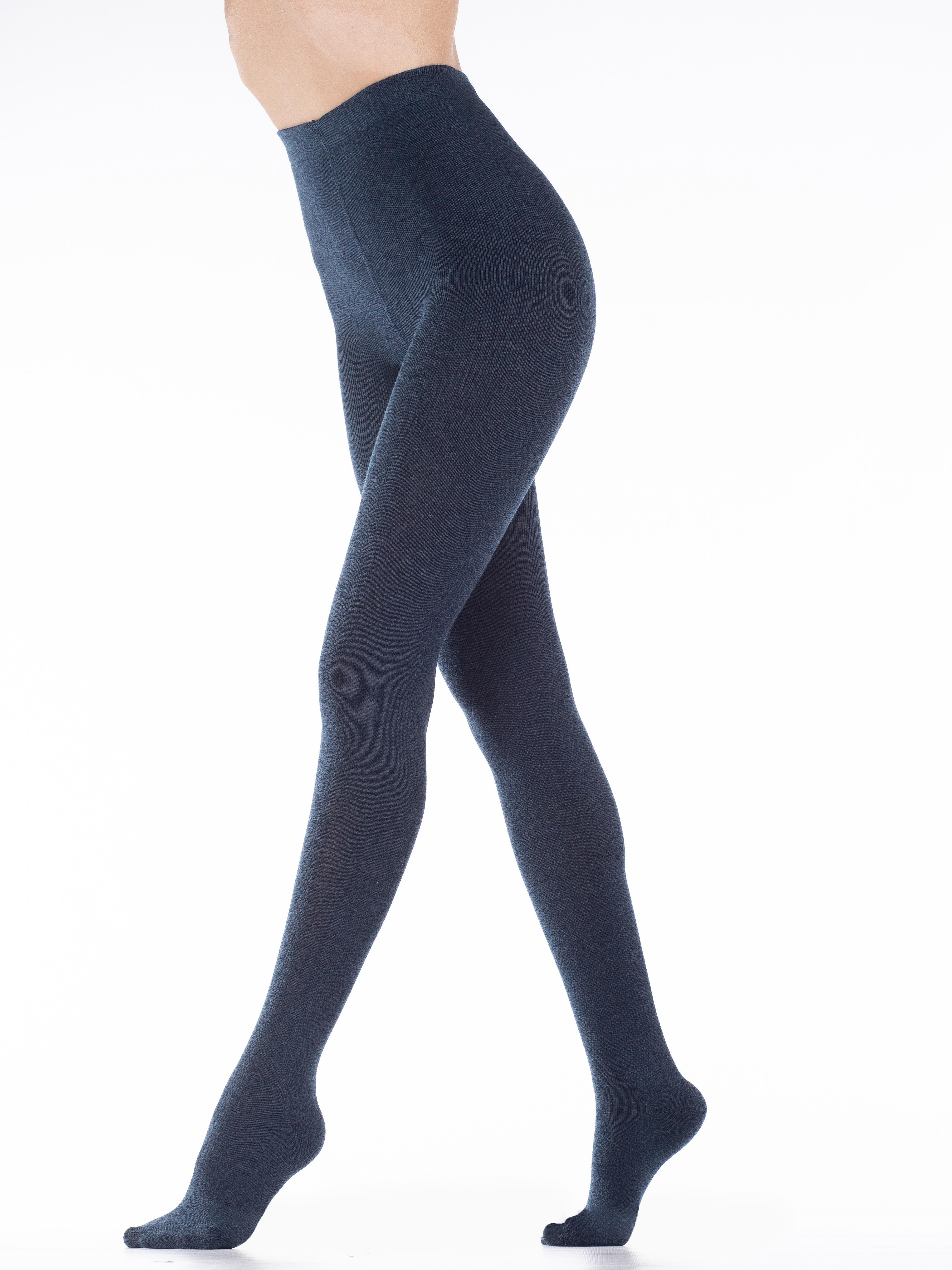 Колготки женские MiNiMi NOVITA 380 синие 4 (L) фото