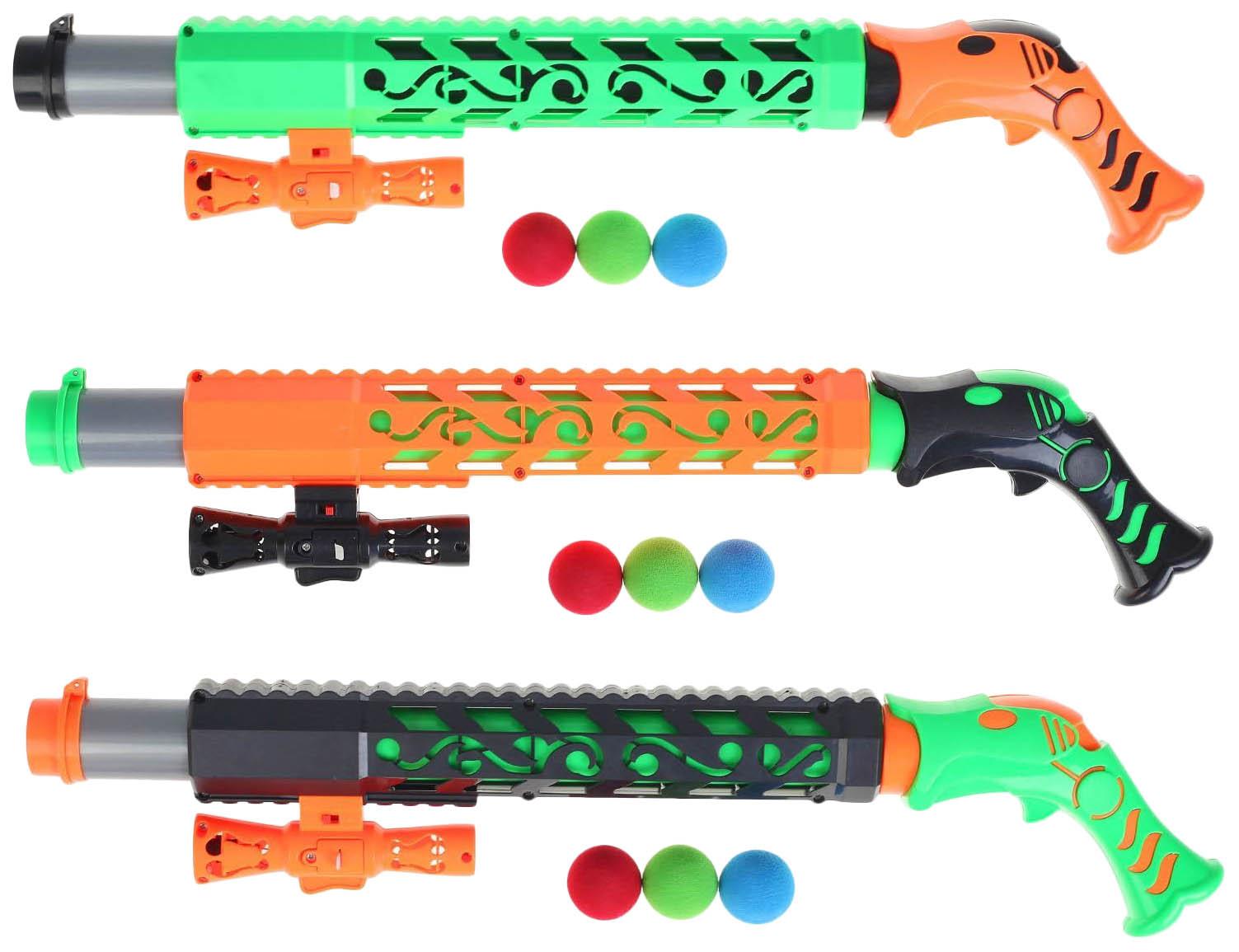 Купить Игрушка для снега Снежкострел с лазерным прицелом, Sima-land, Стрелковое игрушечное оружие
