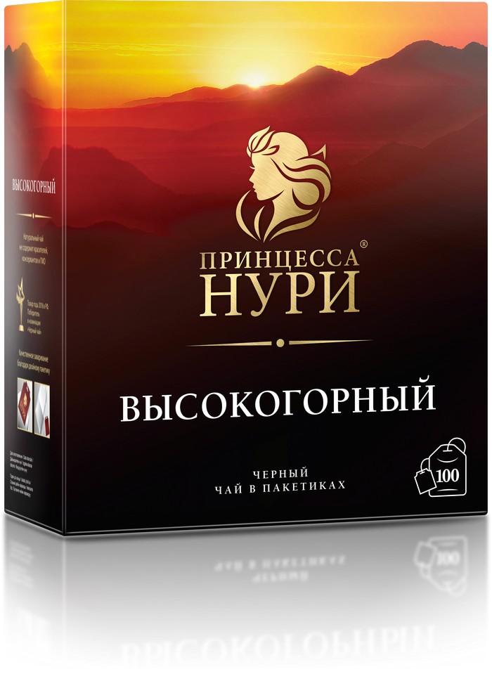 Чай черный Принцесса Нури высокогорный 100 пакетиков