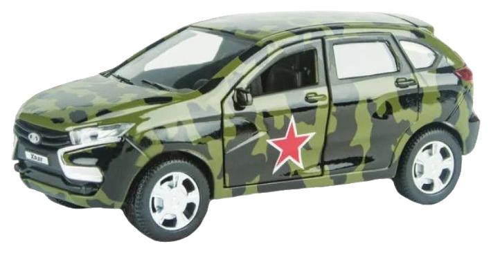 Купить AUTOTIME Машинка Lada Xray. Военная, 1:36 68273W-RUS, Военный транспорт