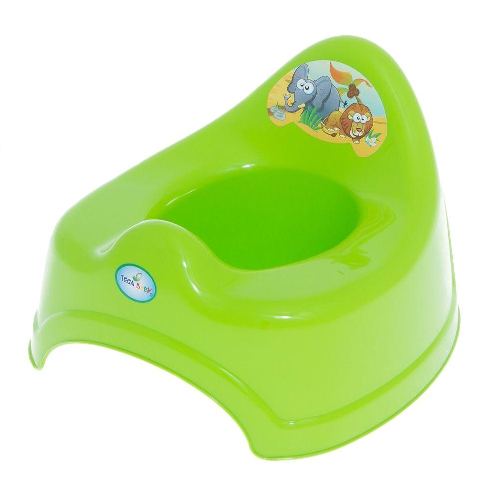 Купить TEGA Горшок музыкальный Сафари, цвет: зелёный УТ0009058, Tega Baby,