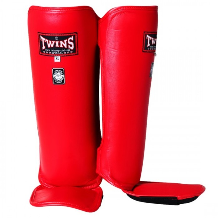 Защита голени Twins SGL2 Shin Protection красная