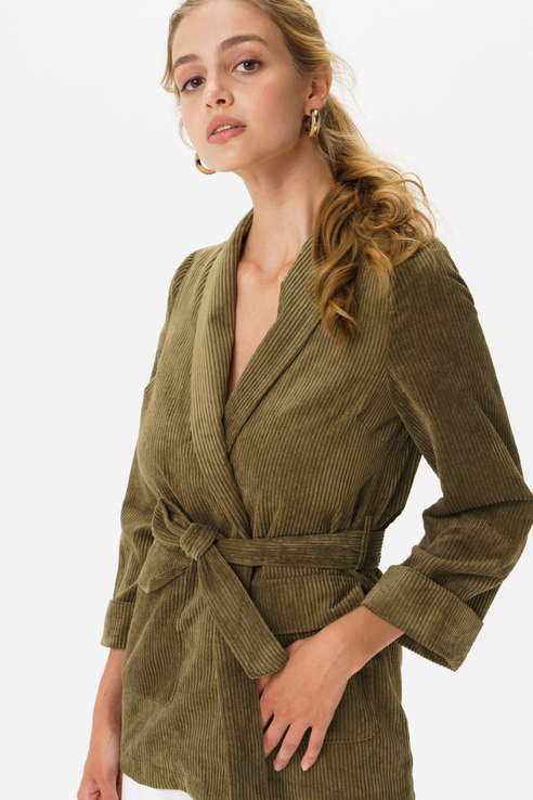 Жакет женский Y.A.S 26015666 зеленый M
