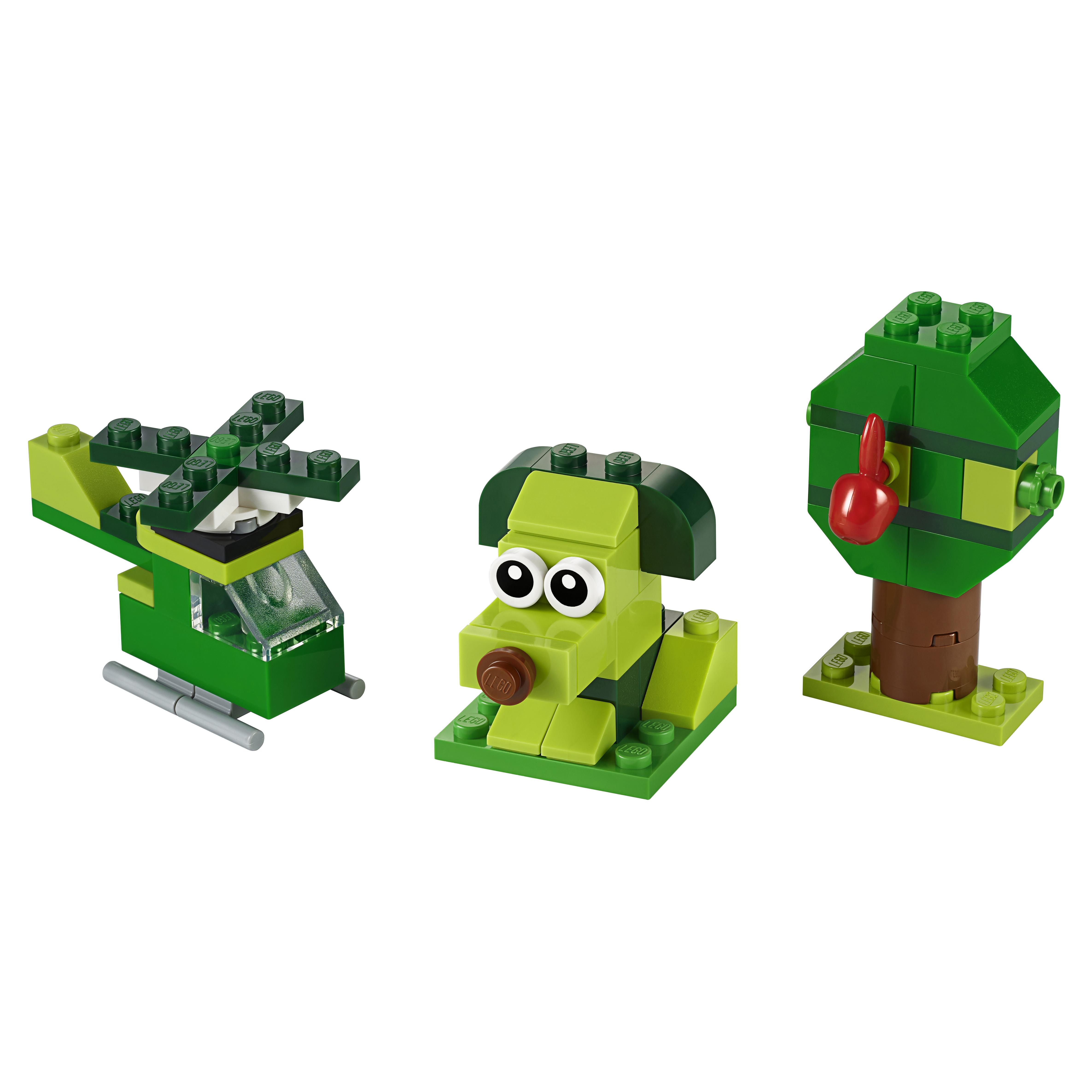 Купить Конструктор LEGO Classic 11007 Зелёный набор для конструирования, LEGO для девочек