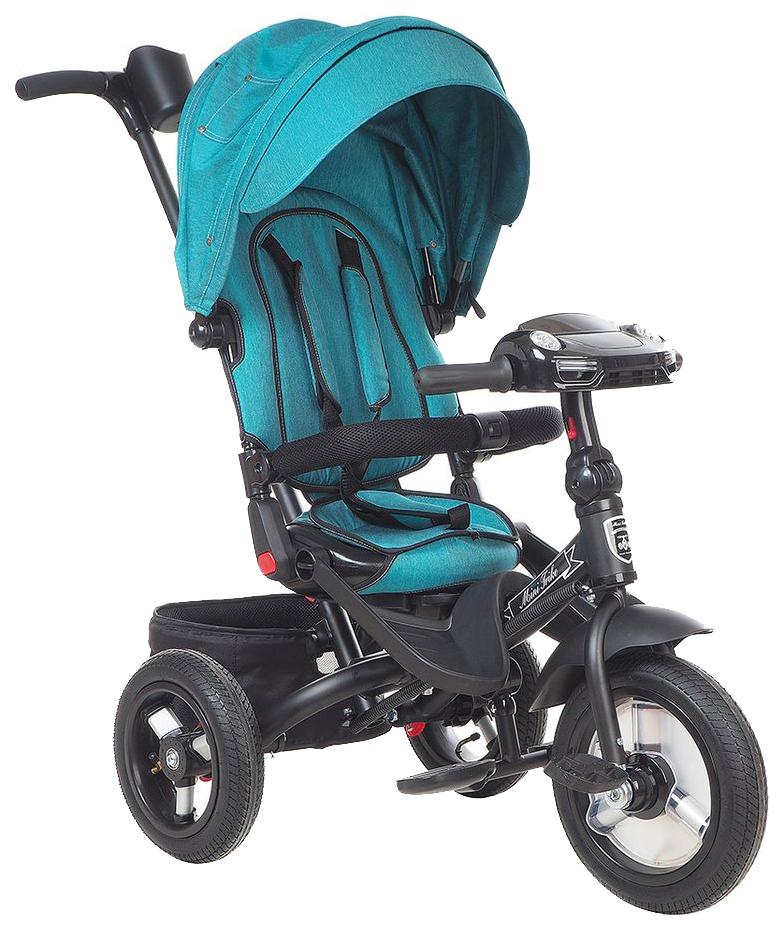 Купить Велосипед детский трехколесный MINI TRIKE зеленый с муз.панель, Детские велосипеды-коляски