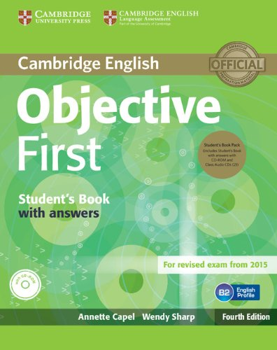 Objective First. Student\'S Book With Answers + Cd-Rom, 2 Cd