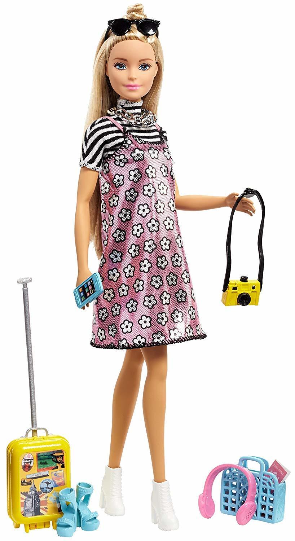 Кукла Barbie Путешествие с аксессуарами FNY29