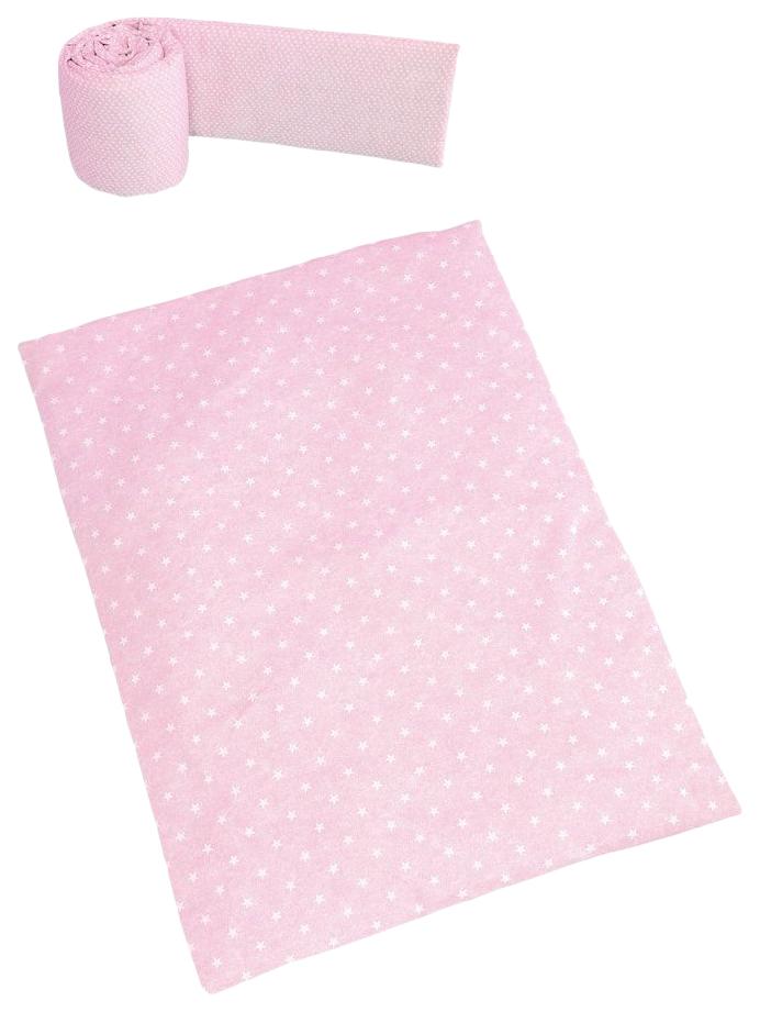 Купить Набор Micuna Galaxy (Микуна Гэлакси) покрывало+бортик для колыбели ТХ-1823 galaxy pink,
