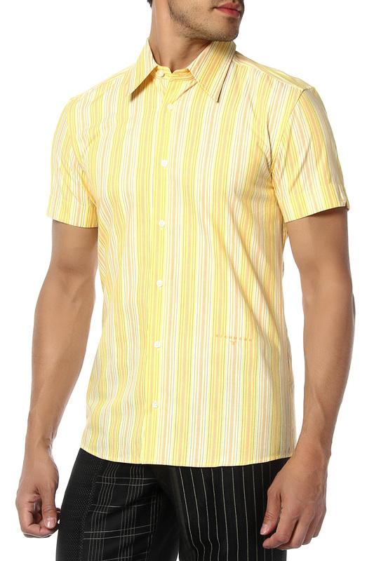 Рубашка мужская John Richmond 05 1 512 желтая 46 IT