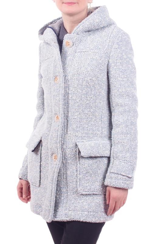 Пальто женское ALBION LW18 голубое 2XL