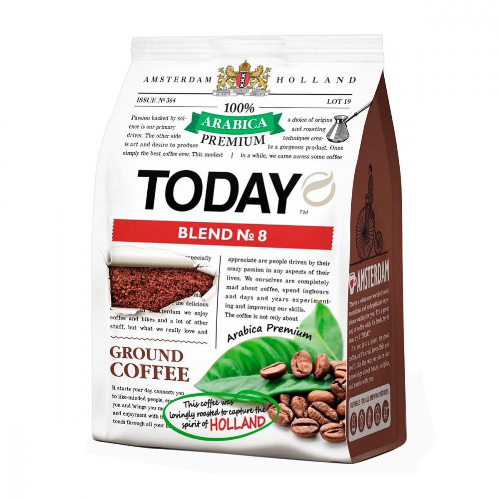 Кофе Today Blend 8 молотый 120 г фото