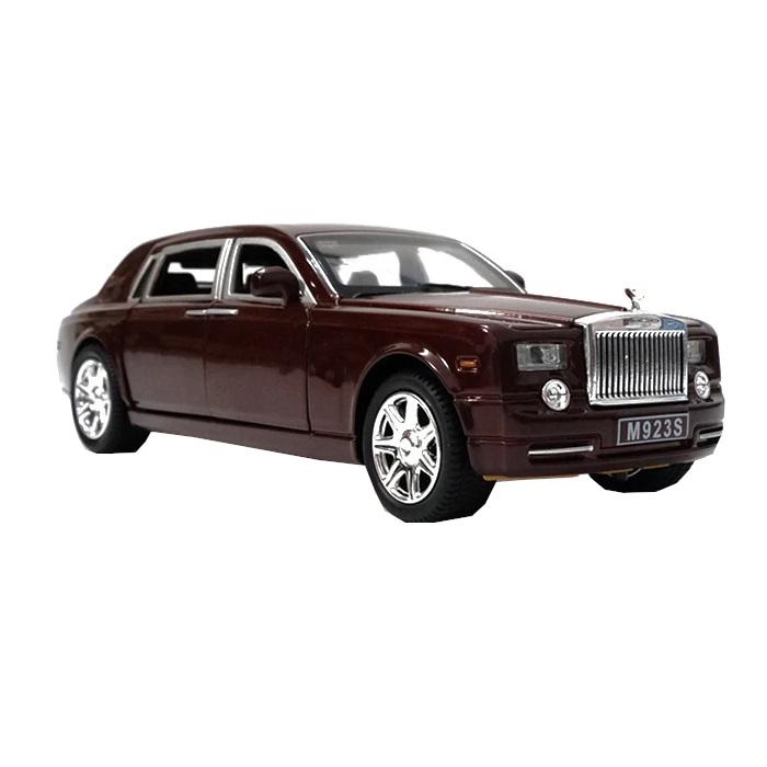 Купить Коллекционная модель машины представительский седан RR инерционная 20.5см, цв. бордовый, Shantou Gepai, Игрушечные машинки