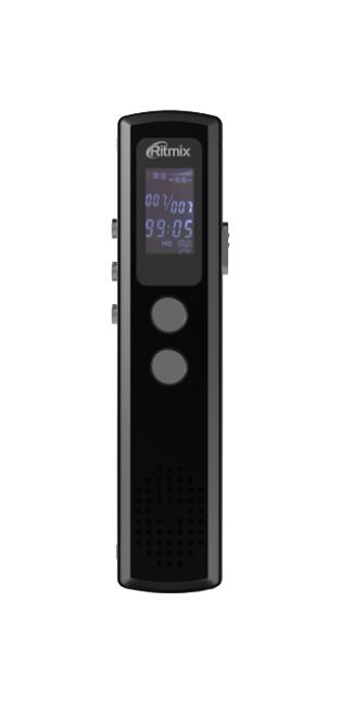 Диктофон цифровой Ritmix RR-120 8GB Black