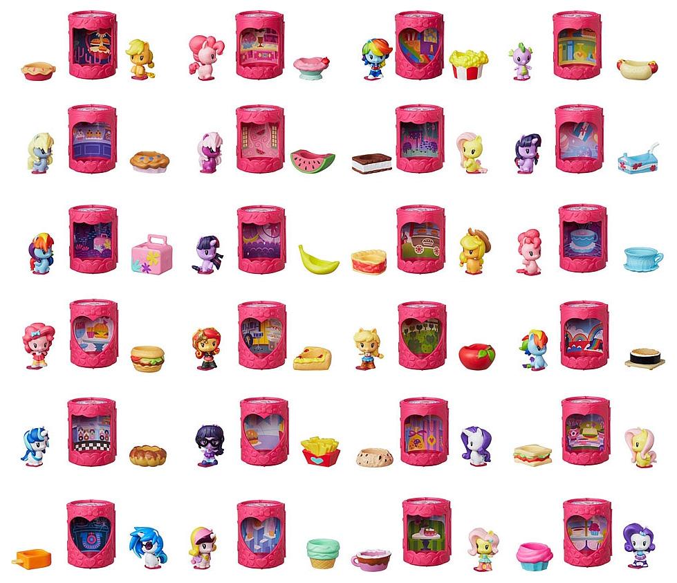 Купить Милашка в закрытой упаковке, Игровой набор Hasbro My Little Pony E1977, Игровые наборы