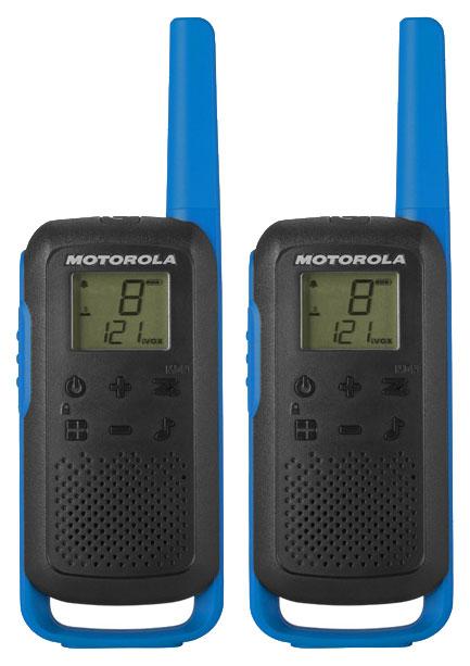 Комплект из двух радиостанций Motorola T62 BLUE (TALKABOUT)