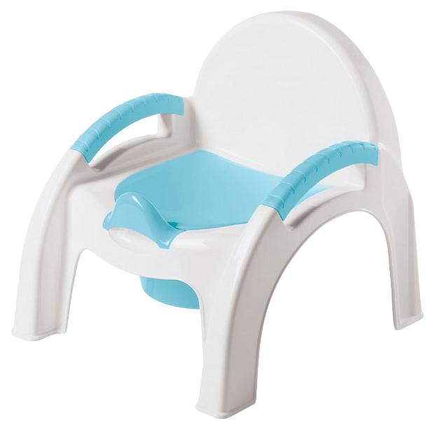 Купить Горшок детский БЫТПЛАСТ 431326702 Горшок-стульчик Голубой, Бытпласт, Горшки детские