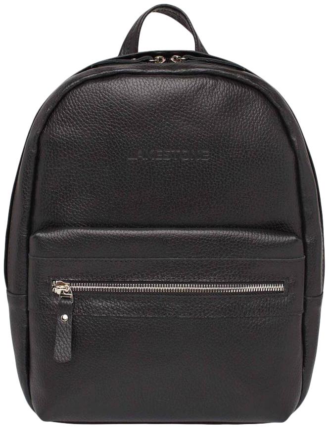 Рюкзак кожаный Lakestone Triniti черный 5 л