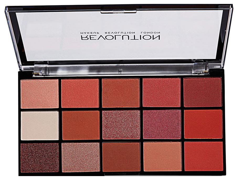 Тени для век Makeup Revolution Re-Loaded Palette Newtrals 2 16,5 г
