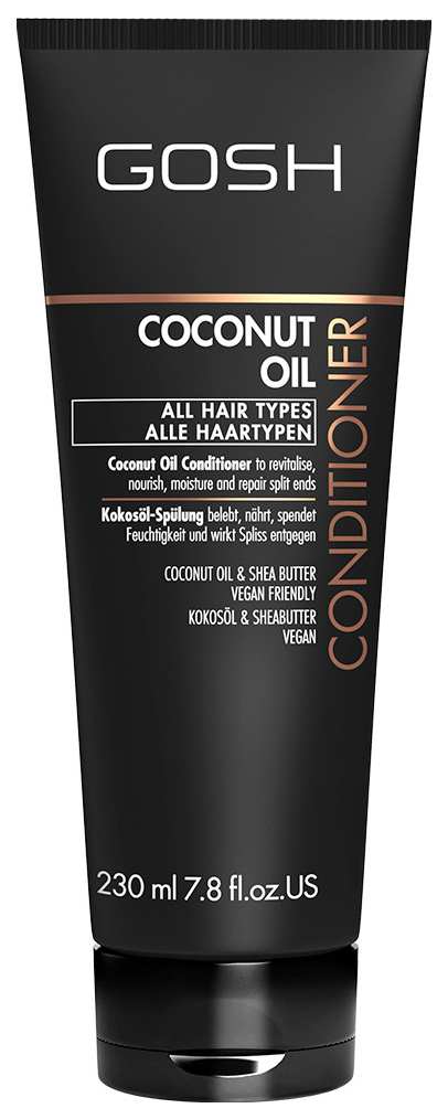 Купить Кондиционер для волос Gosh Coconut Oil 230 мл, GOSH COPENHAGEN