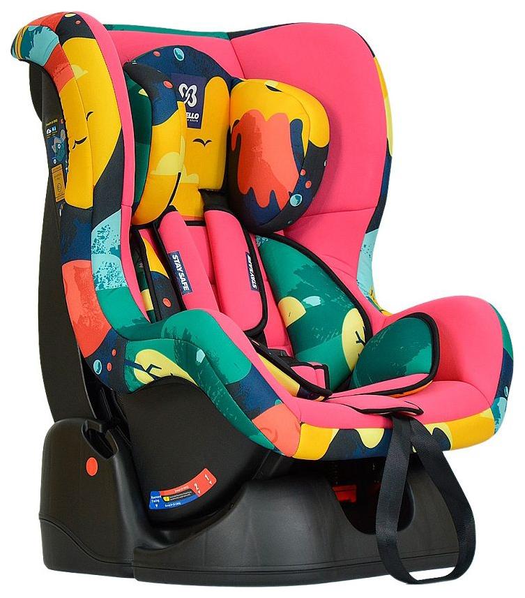 Автокресло детское Farfello GE-B Космос Pink+Colorful