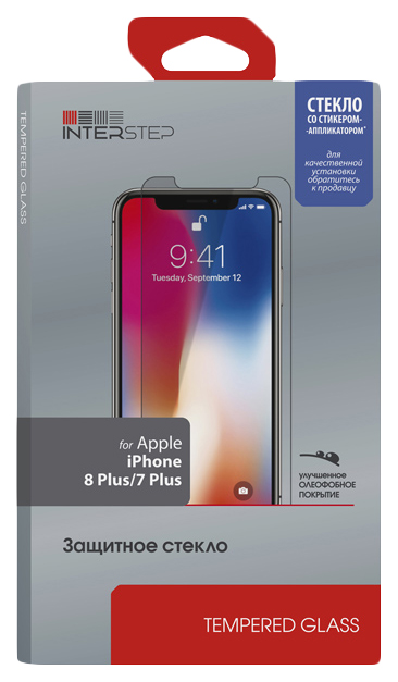 Защитное стекло InterStep для Apple iPhone