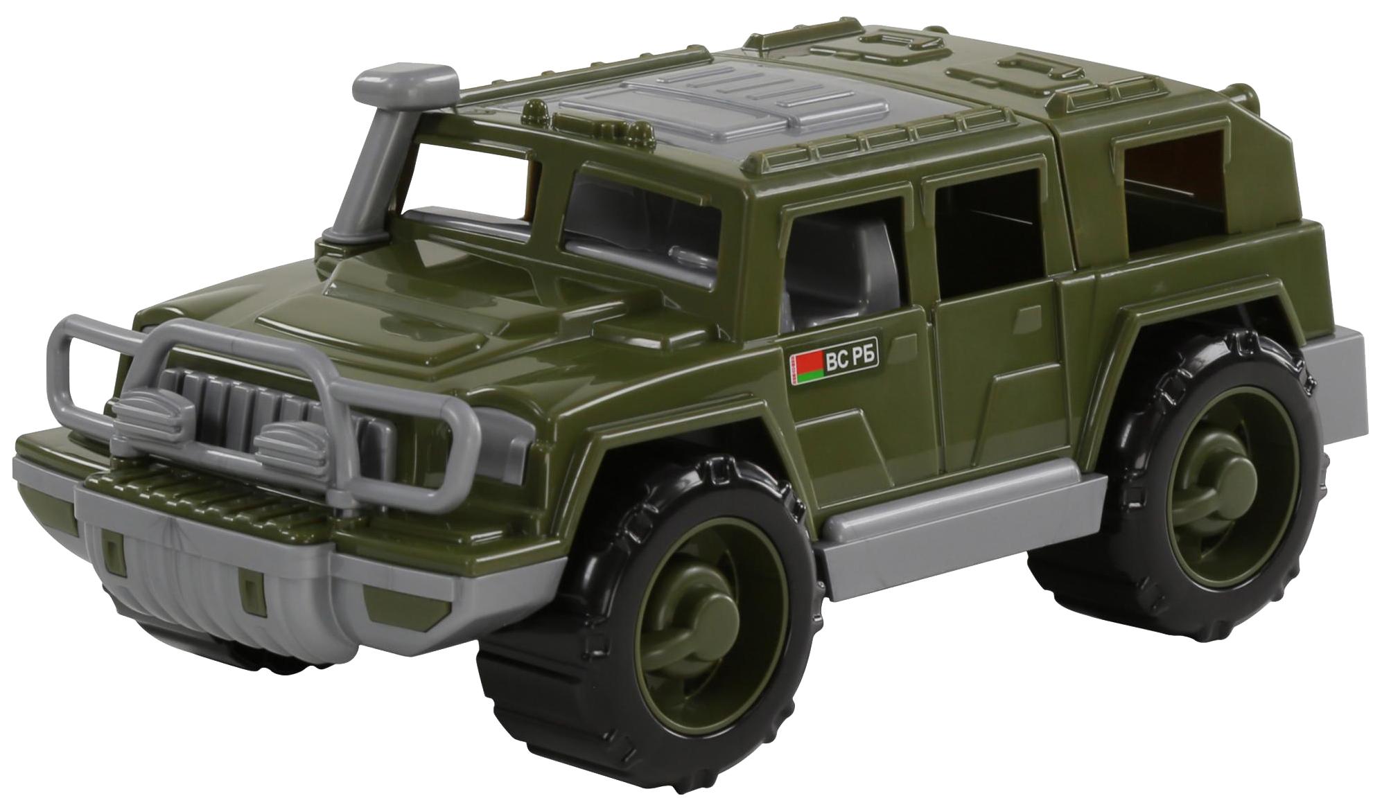 Купить Игрушки, Автомобиль-джип Полесье военный Защитник, Игрушечные машинки