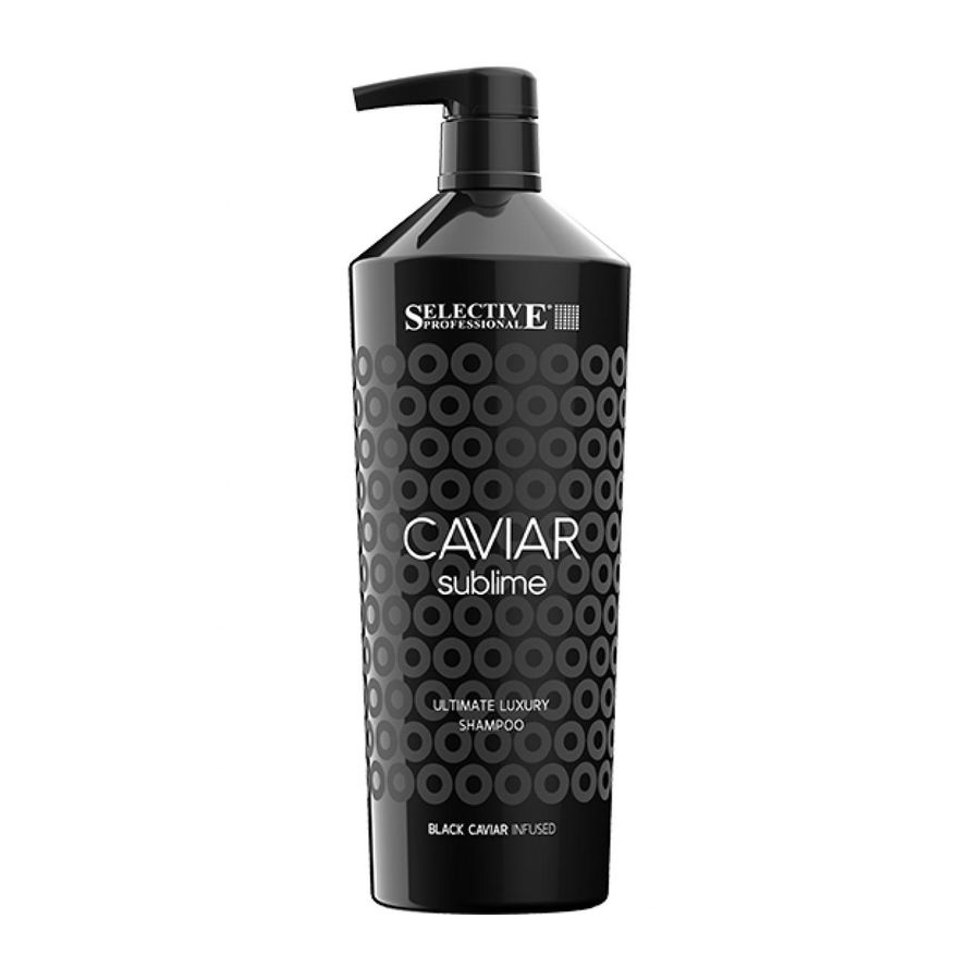 Шампунь Selective Professional Caviar Sublime Ultimate Luxury Shampoo 1000 мл фото