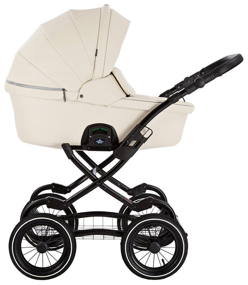 Купить Коляска 2 в 1 Tutis Zippy Classic кожа крем, Детские коляски 2 в 1