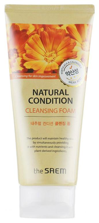 Купить Пенка для умывания The Saem Natural Condition Cleansing Foam Weak Acid 150 мл