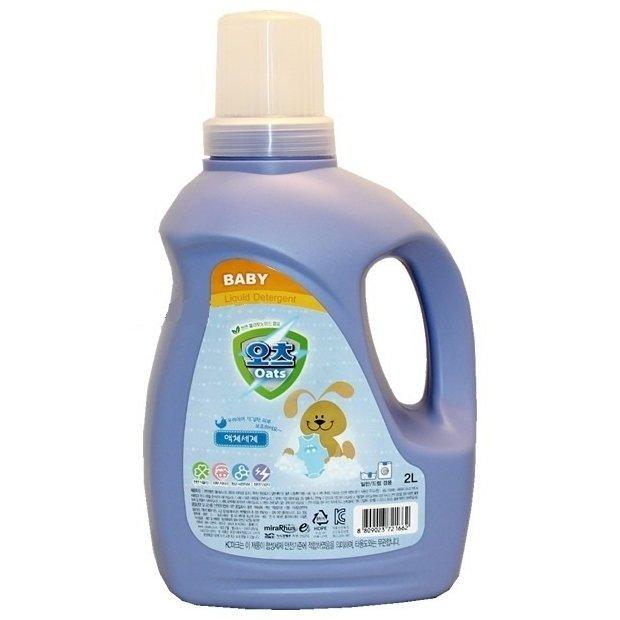 Гель для стирки детского белья Oats baby liquid detergent 2L