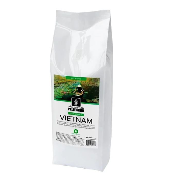 Кофе зерновой La famiglia Pellegrini Vietnam 1000 г