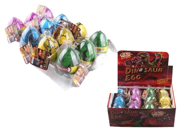 Купить Фигурка Яйцо растущее в воде Динозавр в асссортименте, Junfa toys, Игровые фигурки