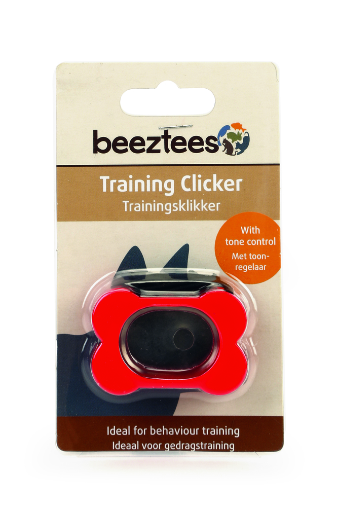 Кликер I,P,T,S Beeztees для тренинга собак