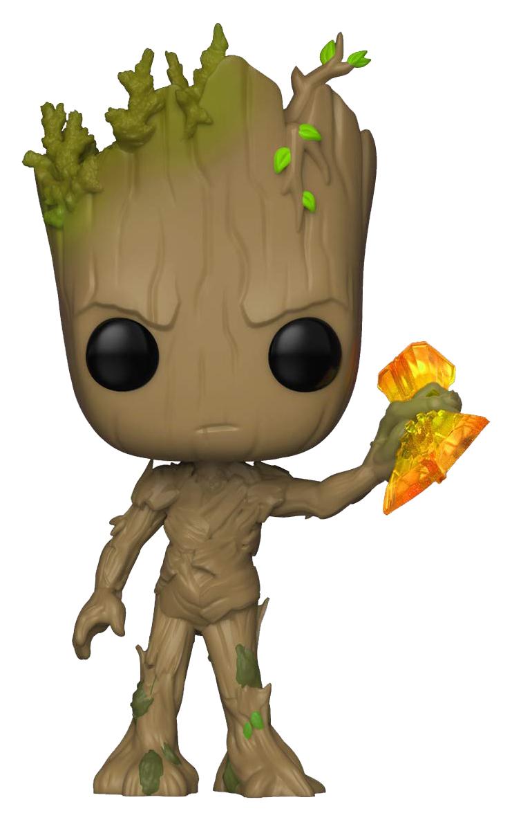 Фигурка-головотряс Funko POP! Bobble Marvel: Avengers: Groot with Stormbreaker