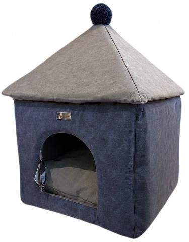 Домик для собак Anteprima купол PONBLU01 синий