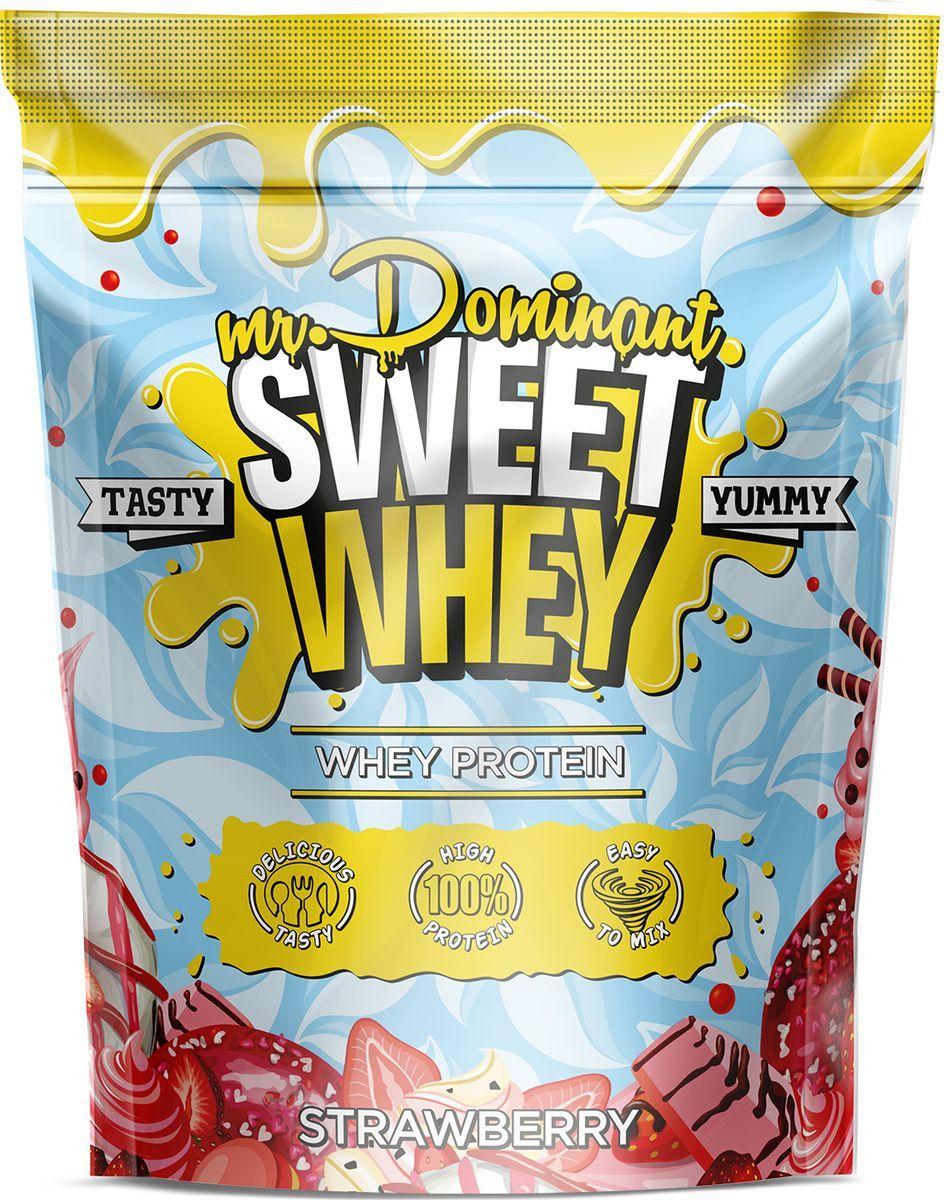 Протеин Mr. Dominant Sweet Whey 900 г Strawberry фото